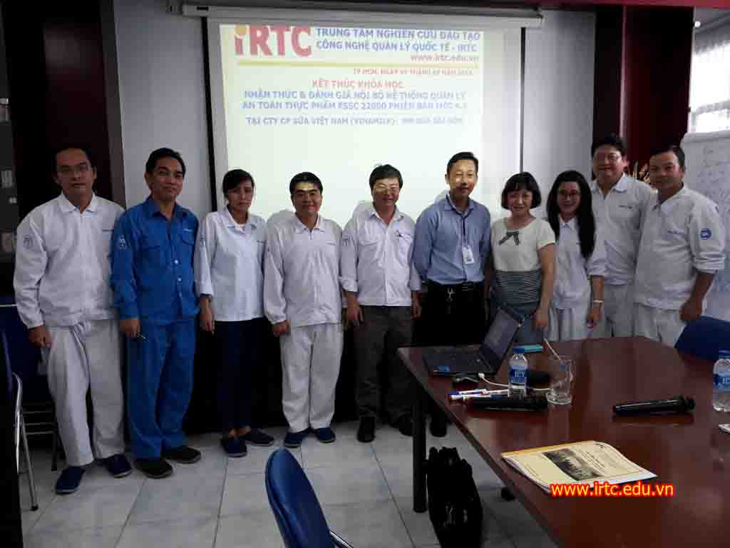 NHẬN THỨC VÀ ĐÁNH GIÁ VIÊN NỘI BỘ ISO 22000 / HACCP